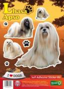 Dogs Self Adhesive Sticker Kit - Lhasa Apso