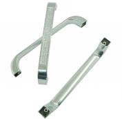 Unilocks Clear Glass Crystal Cabinet Drawer Pulls Handles (C.C.:13cm L:15cm H