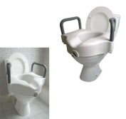 Toilet Seat Raiser (719)- Elevates your seat by 5'' with support arms.