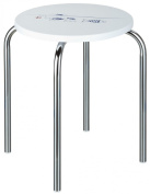 Sanwood Fish Bath Stool with lacquer coating, chrome plated Metal