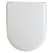 White Luxury D-Shape Quick Release Soft Close Toilet Seat