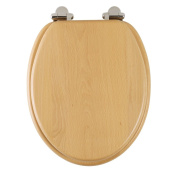 Roper Rhodes Solid Wood Soft Close Toilet Seat Walnut