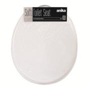 Benross Anika 92460 Soft PVC Toilet Seat, White