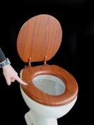 ADOB soft toilet seat, oak