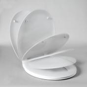Nord Silentium Slow Close White Toilet seat