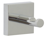 Nie wieder bohren (No More Drilling) EK241 Coat Hook 5 x 6.3 x 5 Chromed with Mounting Technology