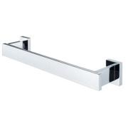 Aqualux 1144826 Chrome Edge Small Towel Holder, 328 mm Wide, Bathroom
