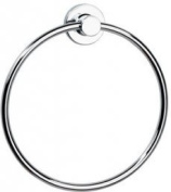 Tecno Project Towel Ring in Chrome
