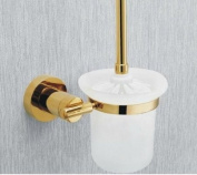 MT Wall Mounted Toilet Brush and Holder,Gold #MT99A