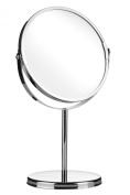 Premier Housewares Round Table Mirror, Chrome