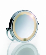 Kela Daria 21495 Standing Mirror with Lights 15 cm 3x Magnification