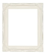 Quality Ornate White Wood Frames 7.6cm Large sizes 5 colours frame only or Plastic Glass 80cm X 50cm (PICTURE SIZE) FRAME ONLY