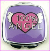 100% Angel Make-Up Compact Mirror