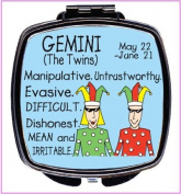 Gemini Make-Up Compact Mirror