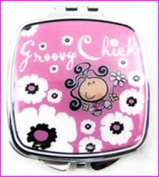Groovy Chick Make-Up Compact Mirror
