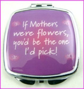 If Mothers Make-Up Compact Mirror