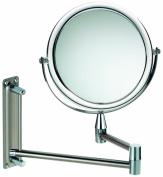 Kela Grazia 20721 Wall Mirror 20 cm 1x and 3x Magnification Acrylic Border / Wall Mounting / Extendible