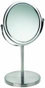 Kela Jade 20722 Standing Mirror 20 cm 1x and 3x Magnification Acrylic Border