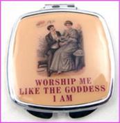 Worship Me Make-Up Compact Mirror