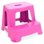 Children's 2 Step Stool (Pink)