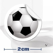 10 x Toilet / Potty Training / Urinal Target Football Stickers