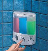 Aviva Trio Chrome Soap Dispenser