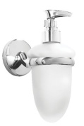 Croydex Hampstead Soap Dispenser, Chrome