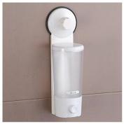 Liquid Soap Bathroom Kitchen Sanitizer Single Lotion Dispenser Powerful Suction