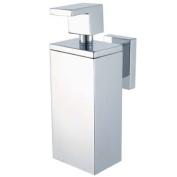 Aqualux 1143814 Chrome Edge Soap Dispenser, Bathroom