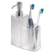 BlissHome Interdesign Rain Combo Soap Dispenser and Toothbrush Holder