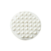 Soap Holder 'Suction' White Rubber