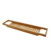 Slim Bamboo Bath Bridge, Bamboo Bath Shelf