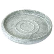 Enzo Rodi 83206 Polyresin Soap Dish Stone-Grey
