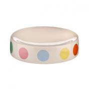 Puntino Soap Dish Fabulous Design With Multi Coloured Dot Stoneware