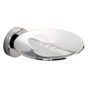 Tecno Project Metal Soap Dish in Chrome