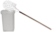 Emco Loft 237578 Toilet Brush Set Frosted Cut Glass Wall Mounted Chrome