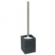 Enzo Rodi 80899 Toilet Brush and Holder Lava / Polyresin