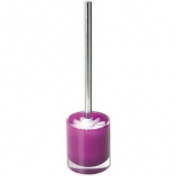 Enzo Rodi 81305 Toilet Brush and Holder Polyresin Purple