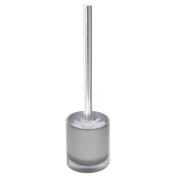 Enzo Rodi 81387 Toilet Brush and Holder Polyresin Metallic Silver