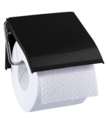 Retro Classic Black Toilet Roll Holder 13cm x 13cm Luxury Bathroom