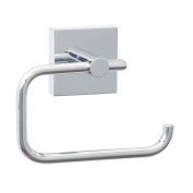 Nie wieder bohren (No More Drilling) EK235 Toilet Roll Holder 13.3 x 4.7 x 11 Chromed with Mounting Technology