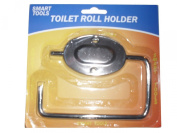 Chrome Metal Bathroom Toilet Loo Roll Holder