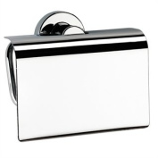 Tecno Project Toilet Roll Holder with Flap in Chrome
