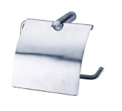 Toilet design toilet paper holder with lid cover Stainless Steel wall mounted