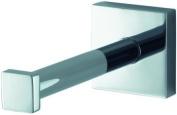 Aqualux 1113589 Chrome Mezzo Spare Toilet Roll Holder, Bathroom