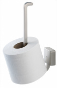 Tiger Impuls 38543_09 Toilet Roll Holder Stainless-Steel and Zamac Matte Brushed Stainless Steel