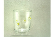 Glass Daisy Tumbler By Gisela Graham