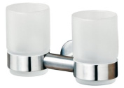 Tiger 3077 Boston Bathroom Series Tumbler Holder with 2 Glasses