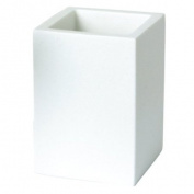 Enzo Rodi 82641 Cup Poly-Resin White