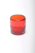 Small Tumbler or shot glass (6x6cm) - Red